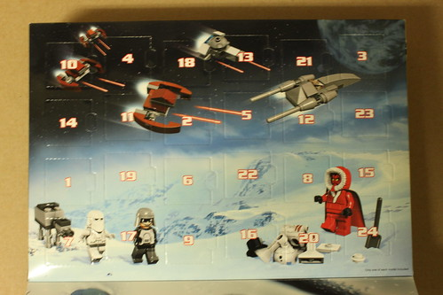 LEGO Star Wars 2012 Advent Calendar (9509)