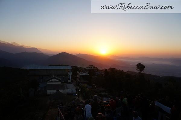 Sarangkot Nepal - sunrise pictures - rebeccasawblog-016
