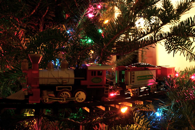 The Christmas Tree Train