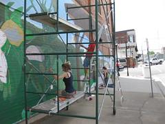 art internships mural photo