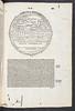 Woodcut map in Macrobius, Aurelius Theodosius: In Somnium Scipionis expositio