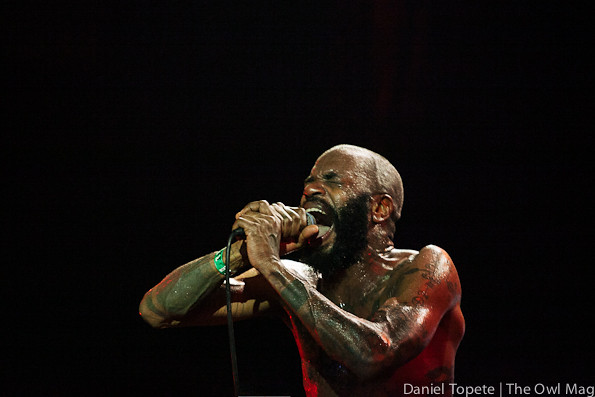 Death Grips @ Slims, SF 12/3/12