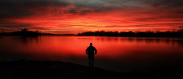 Arkansas River Sunset
