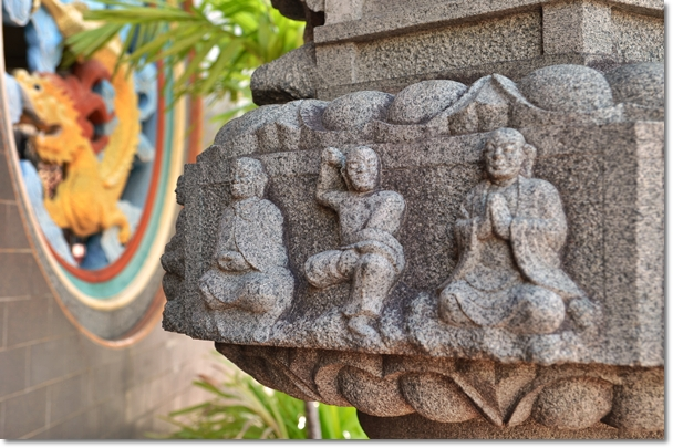 Stone Carvings @ Chinese temple