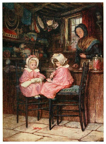013- Jovenes clientes-Happy England as painted by Helen Allingham-1903