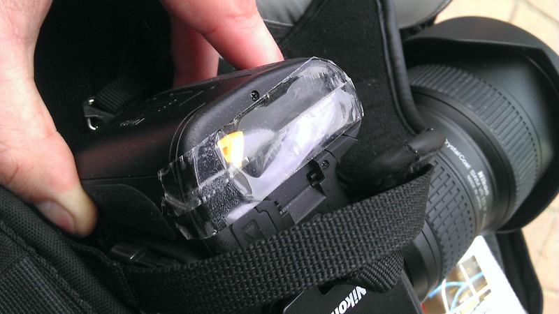 Nikon D800 battery cover/door