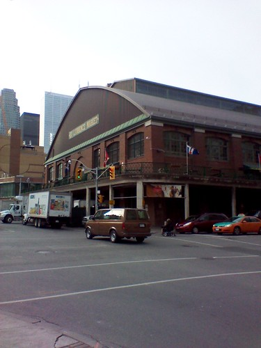 St. Lawrence Market, South Market, as seen from The Esplanade
