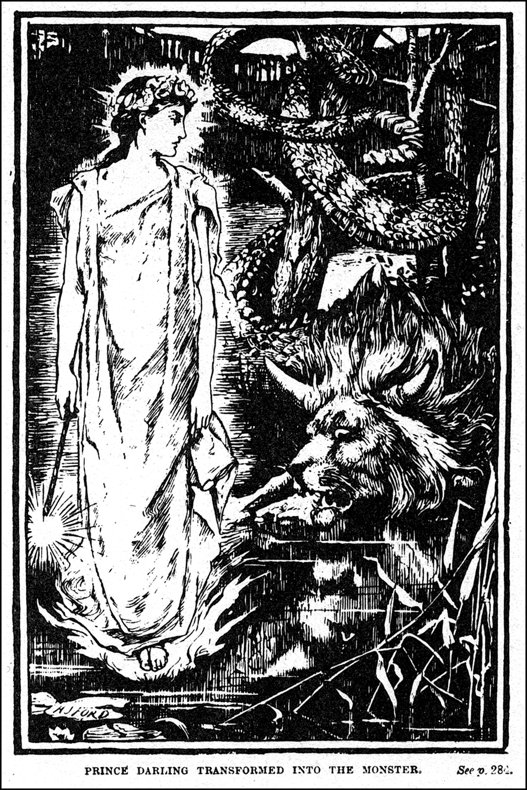 Henry Justice Ford - Prince Darling Transformed Into The Monster