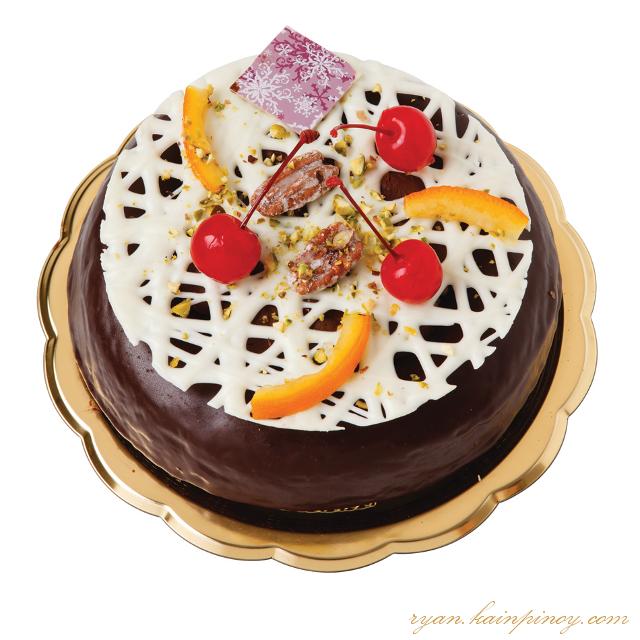Noël Dark Chocolate Fruitcake