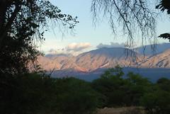 Cafayate vista cerca de Chuscha