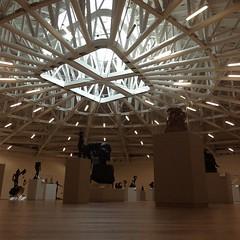 Top floor. Dali & Rodin sculptures