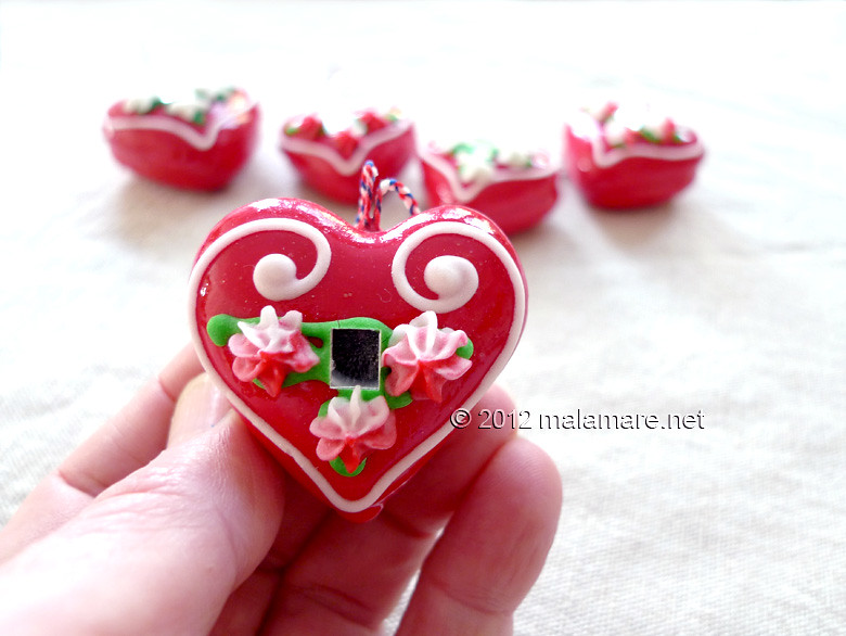 Heart embroidery pattern inspiration licitar
