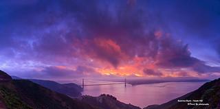 Sunrise Burn - Hawk Hill