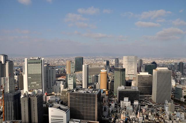 中之島フェスティバルタワー 37階眺望