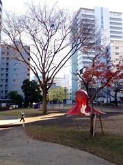 タコ公園にて 2012/12/16