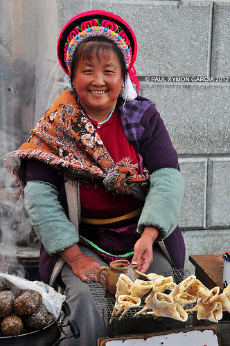 Bai Woman, Dali, Yunnan, China