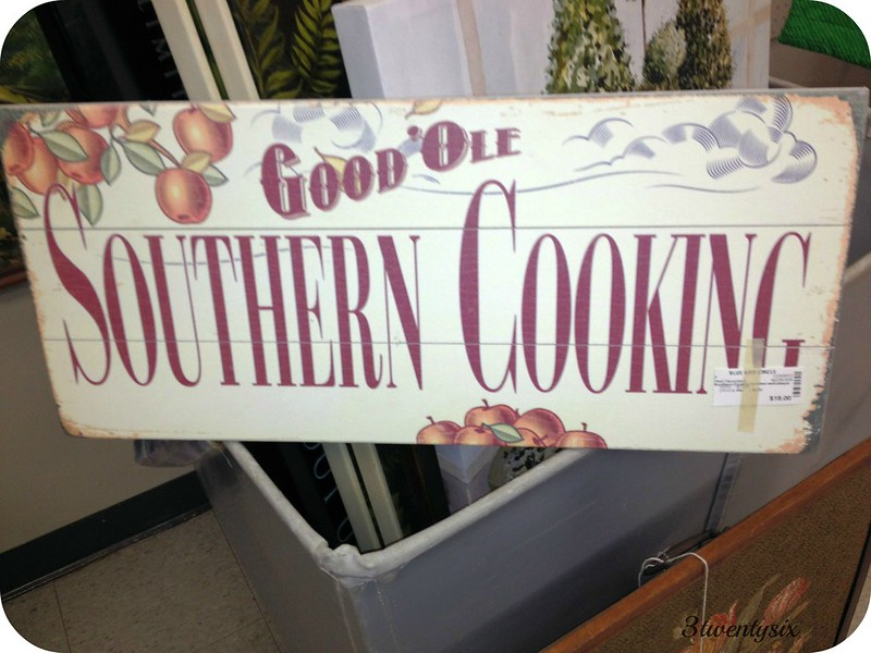 Good'Ole Southern Cooking Sign