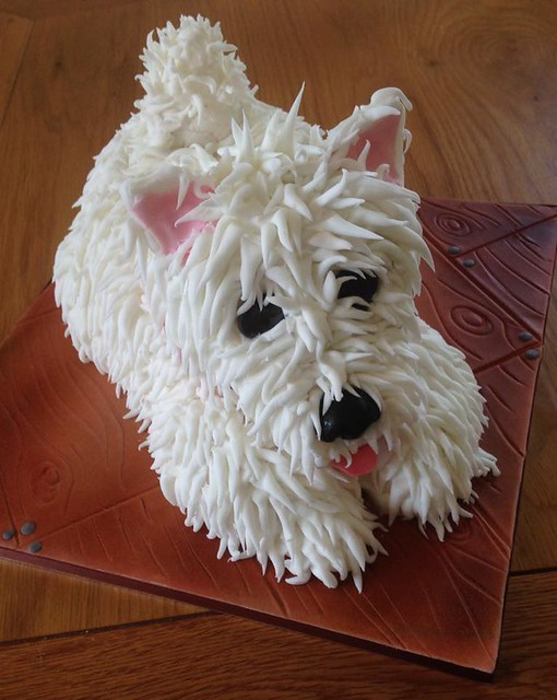 Monty - White West Highland Terrier by Nanny-Babs Barrett