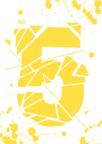 Typographic Illustration - No5