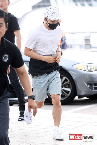 BIGBANG Incheon Airport to Shanghai Press 2015-06-19 010