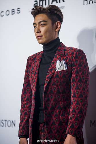 TOP - amfAR Charity Event - Red Carpet - 14mar2015 - FashionModels - 02