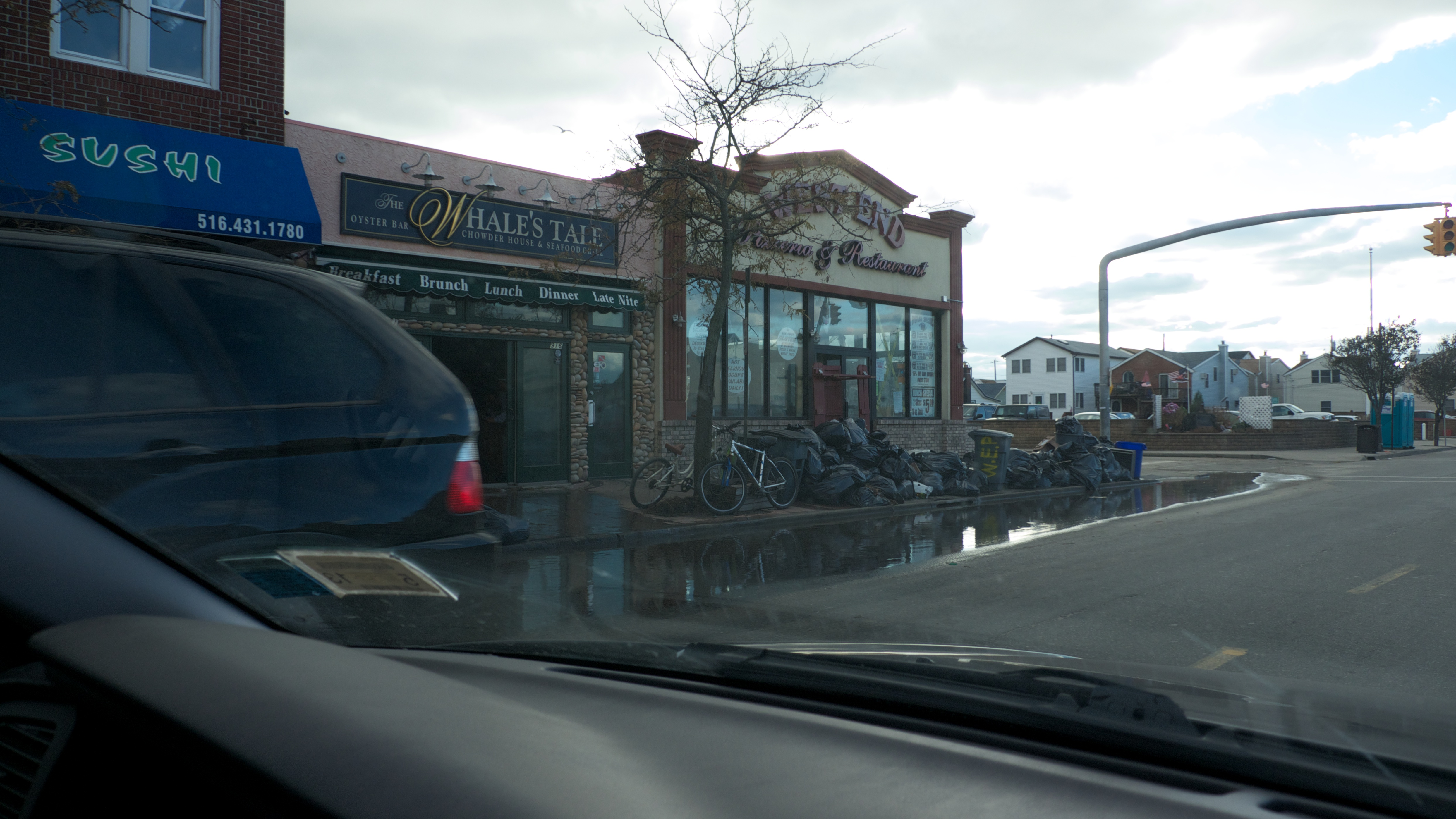 Flooding Long Beach Island New Jersey