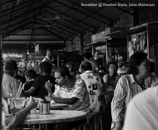 Breakfast @ Jalan Maharani