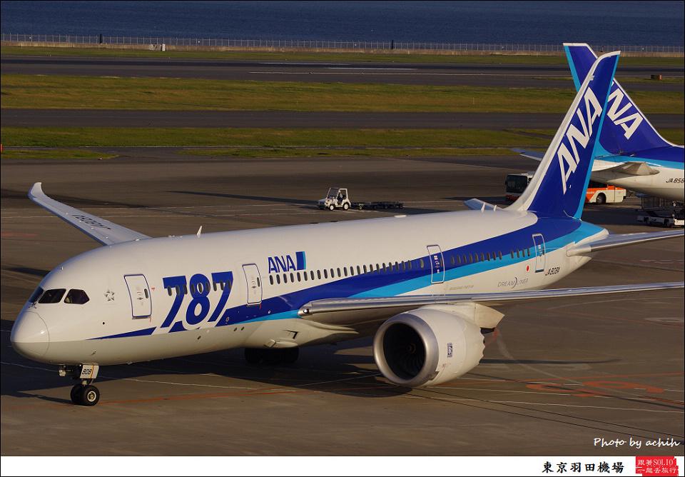 All Nippon Airways - ANA / JA808A / Tokyo - Haneda International