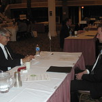 Kimberly-Clark recruiter Paul Henry interviewing a candidate --