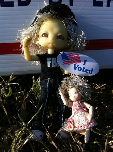 YAY We VoTed ToDaY!!! by DollZWize