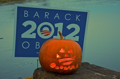 The pumpkin is staying put, too!                         Now let's get working on the serious problems we all face!