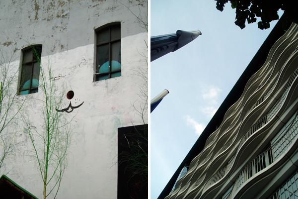 Hamburg facades