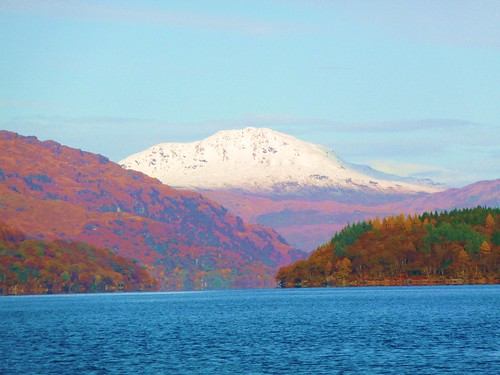 Loch Lomond from Tarbert