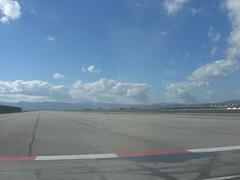 Crossing the runway (Gibraltar)
