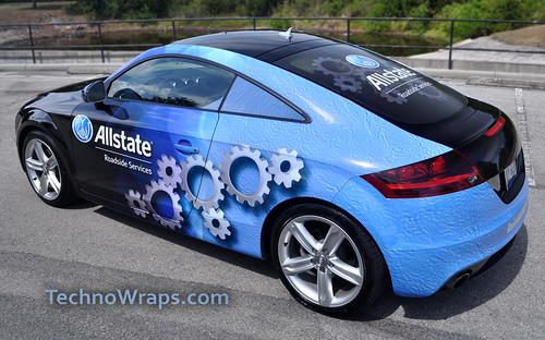 Audi car wrap Orlando