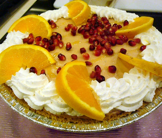 Pomegranate pie, Pie Mania in Santa Fe
