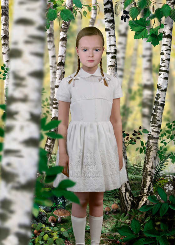 Ruud van Empel, Untitled 1, 2004. Image courtesy of the artist