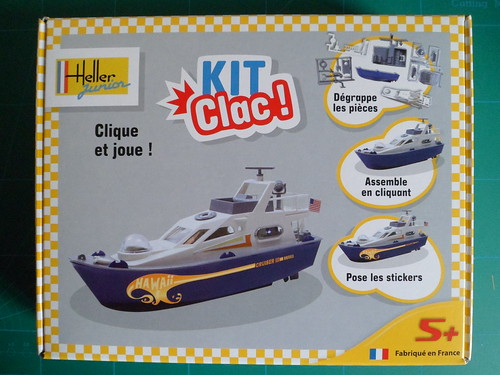 [Heller Junior Kit Clac] Yacht Hawaï des chantiers navals Sletch & fils   8175449137_d52dd943fb