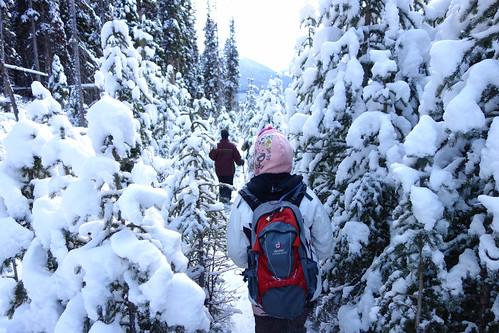 Snowshoeing Rummel Lake-9