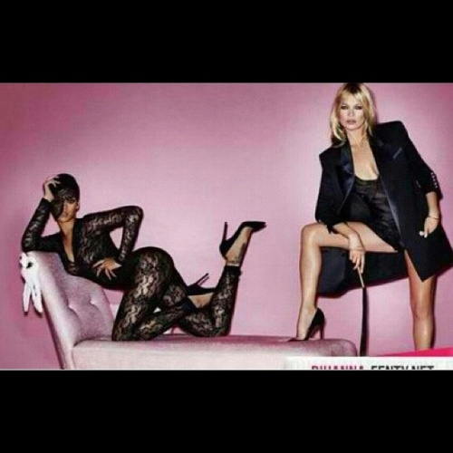 Kate Moss and Rihanna V Magazine