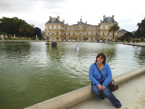 Emma in the Luxembourg Gardens, Paris