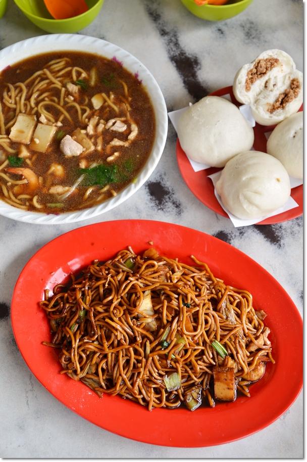 Fried Noodles & Pau @ Yee Si, Kampung Koh