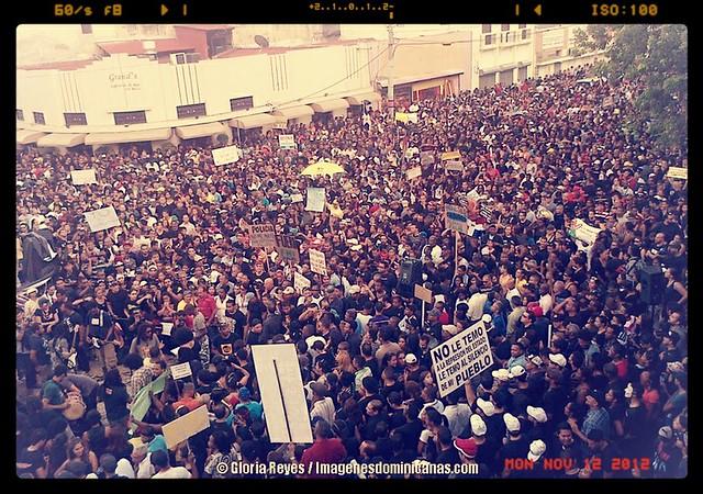 Dominicanos rechazando Reforma Fiscal por Gloria Reyes