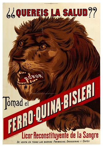 010-Ferro Quina Bisleri -1910-1920-Copyright Biblioteca Nacional de España