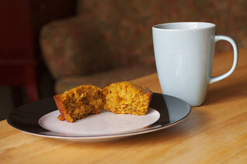 Pumpkin Muffins and Coffee