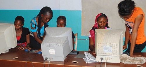 Computer Studies is an important part of the programme at the Mater Dei Vocational Training Centre, Akure, Ondo State, Nigeria