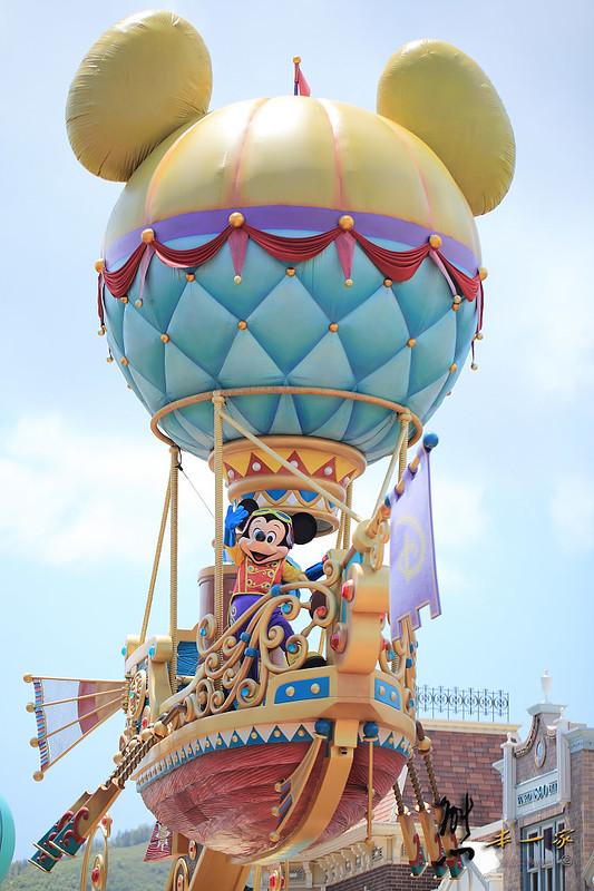 [香港迪士尼樂園] 飛天巡遊~一次看遍所有迪士尼卡通人物