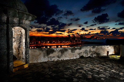 Havana at Night by Rey Cuba