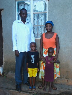 Charles Kayongo, a Ugandan bar owner, and his wife Eunice, have defied traditional beliefs and refuse to have more than two children. Credit: Dennis Kasirye/IPS