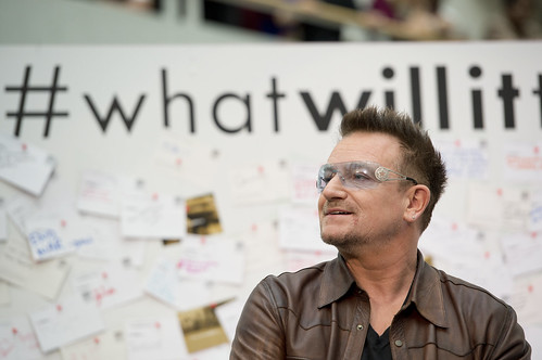 Bono speaks at the World Bank's #whatwillittake event on November 14th, 2012